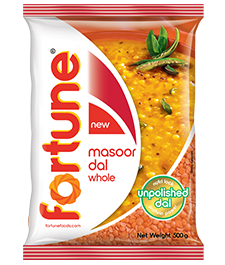fortune unpolished masoor dal