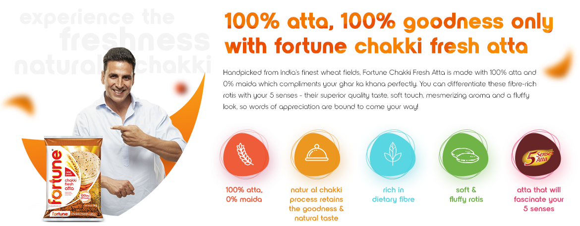 Fortune Chakki Fresh Atta