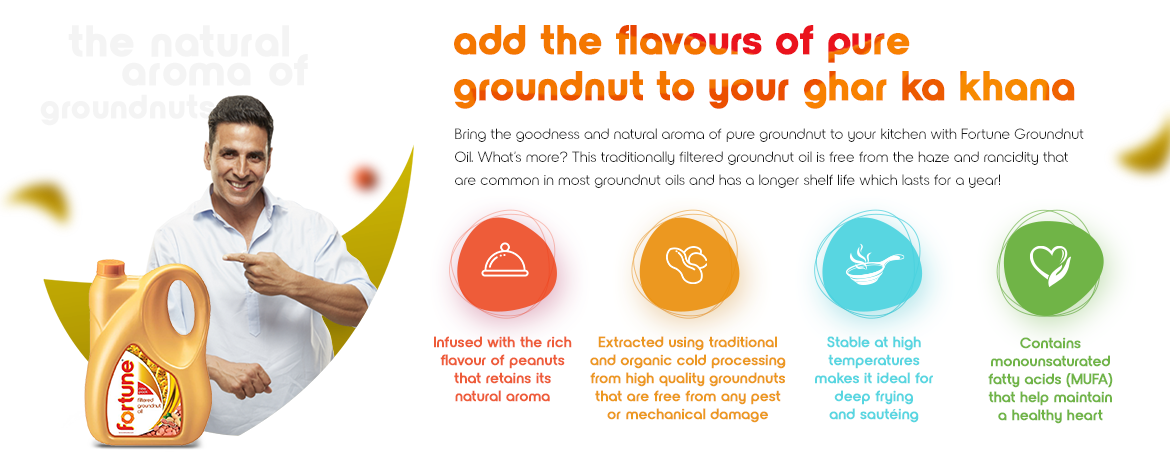 fortune filtered groundnut oil