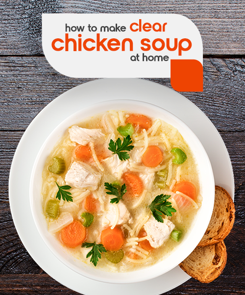 fortune chicken clear soup