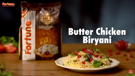 fortune butter chicken biryani